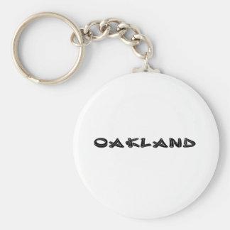 Oakland-Graffiti Schlüsselanhänger