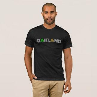 OAKLAND Kalifornien: Einfach, elegant, Baseball T-Shirt