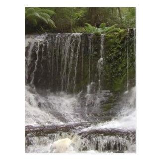 Oasis Waterfalls in Tasmania south of Australia