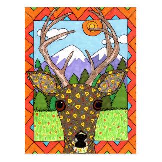 Oaxacan Rotwild Postkarte