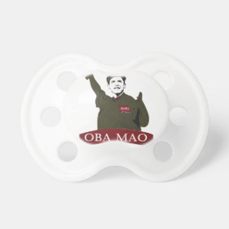OBA MAO Obama + Freiheitsstatue Parodie Schnuller