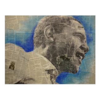 Obama '08 postkarte
