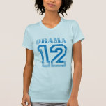 OBAMA 12 JERSEY BLAUES Vintage.png T-shirt