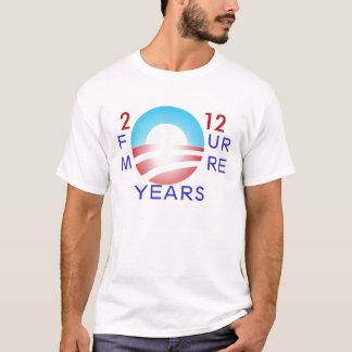 Obama 2012: Vier weitere Jahre T-Shirt