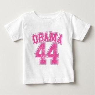 Obama 44 rosa heller Frauen Baby T-shirt