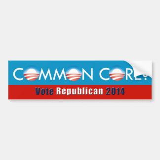 Obama (allgemeiner Kern? /Vote Republikaner-) Autoaufkleber