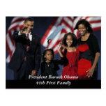 Obama-Andenken-Postkarte Postkarten