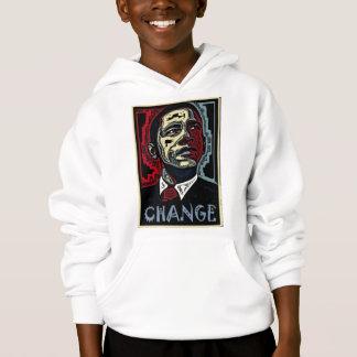 Obama-Änderung Hoodie