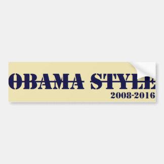Obama-Art-Autoaufkleber Autoaufkleber