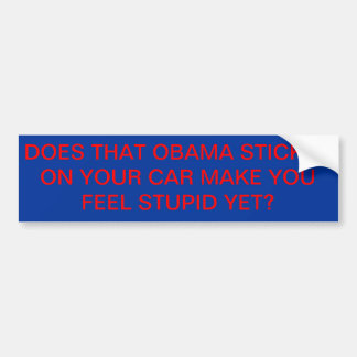 Obama-Aufkleber Autoaufkleber
