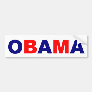 OBAMA-Autoaufkleber Autoaufkleber