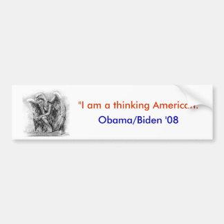 Obama-Autoaufkleber