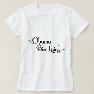 Obama-Behälter lyin T-Shirt