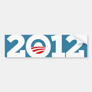 Obama Biden 2012 Auto Sticker