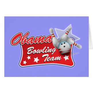 Obama-Bowlings-Team Karte