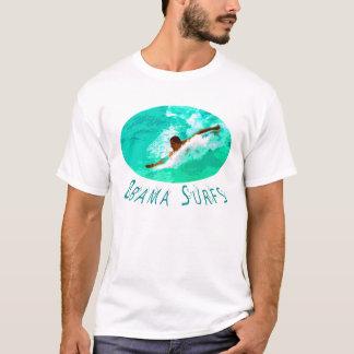 Obama-Brandungen T-Shirt