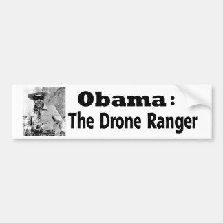 Obama: Der Drohne-Förster Autoaufkleber