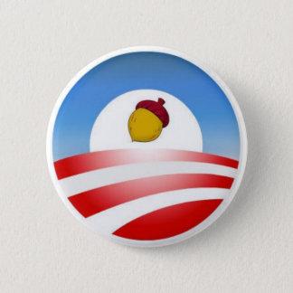 Obama-Eichel Runder Button 5,7 Cm