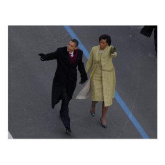 Obama-Einweihung Postkarte