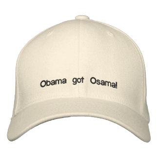 Obama erhielt Osama! Bestickte Kappe