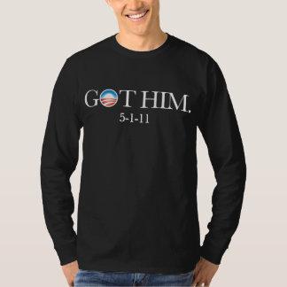 Obama erhielt Osama. Bin Laden wird getötet. IHN T-Shirts