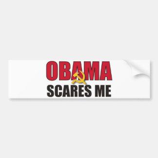 Obama erschrickt mich autoaufkleber