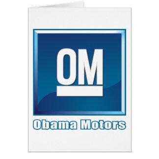 Obama fährt Logo Karte