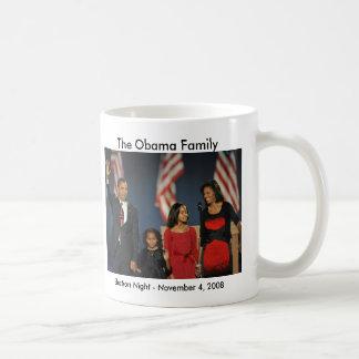 Obama-Familien-Wahl-Nacht Kaffeetasse