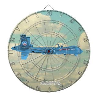 Obama-Fluglinien-DrohneDartboards Dartscheibe