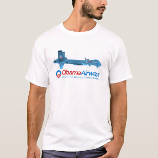 Obama-Fluglinien-kundengerechte Drohne-Shirts T-Shirt