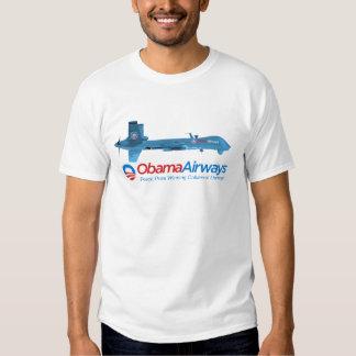 Obama-Fluglinien-kundengerechte Drohne-Shirts T Shirts