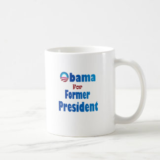 Obama für Präsidenten Button Kaffeetasse