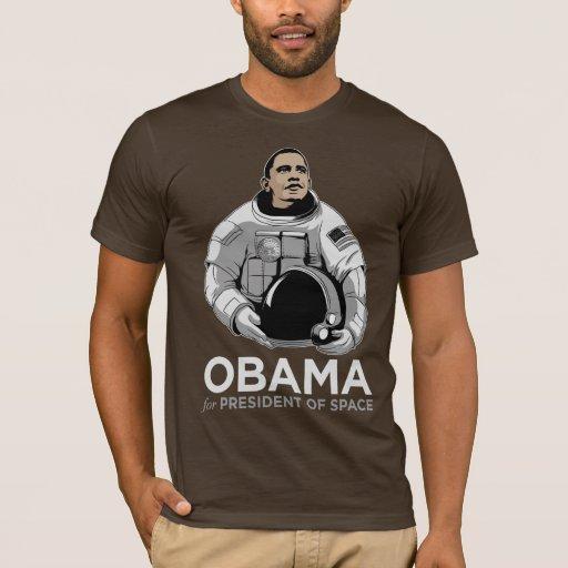 Obama für Präsidenten des Raumes T-Shirt