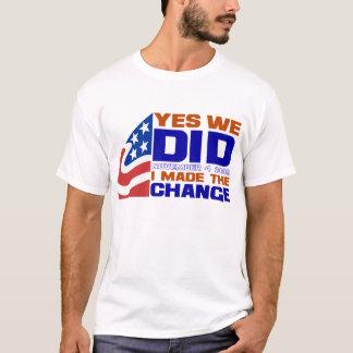 Obama-Gewinne T-Shirt