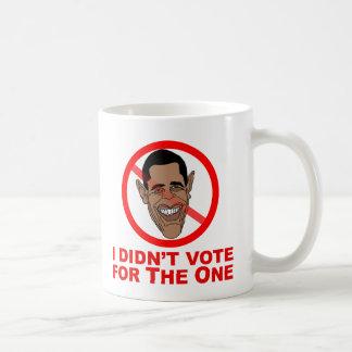 Obama: Ich wählte nicht für das Kaffeetasse