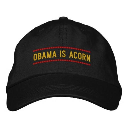 Obama ist Eichel Bestickte Kappe