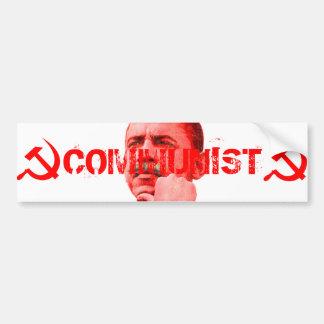 Obama ist ein Kommunist Autoaufkleber