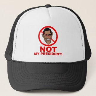 Obama ist NICHT mein Präsident Truckerkappe