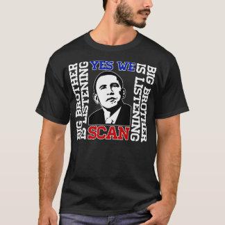 Obama ja scannen wir T - Shirt