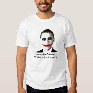 Obama-Joker, vom Jungen-Wunder zum Joker in… Hemd