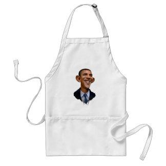 Obama-Karikatur Schürze