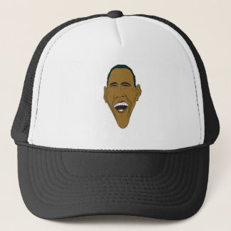 Obama-Karikatur Truckerkappe