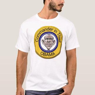 Obama-Kommandant im Dieb T-Shirt