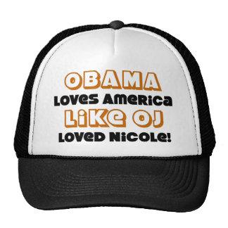 Obama-Lieben Amerika mögen… Baseballmütze