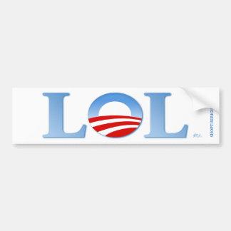 Obama LOL Autoaufkleber