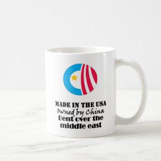 Obama machte in den USA Kaffeetasse