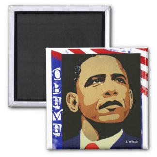 Obama (Magnet) Quadratischer Magnet