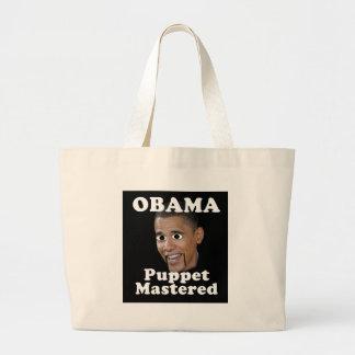 Obama, Marionette beherrscht Taschen