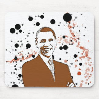 Obama modernes Mousepad 2