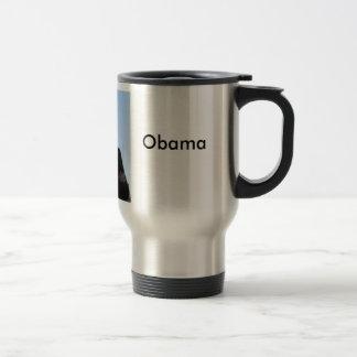 Obama, Obama, Barack Reisebecher